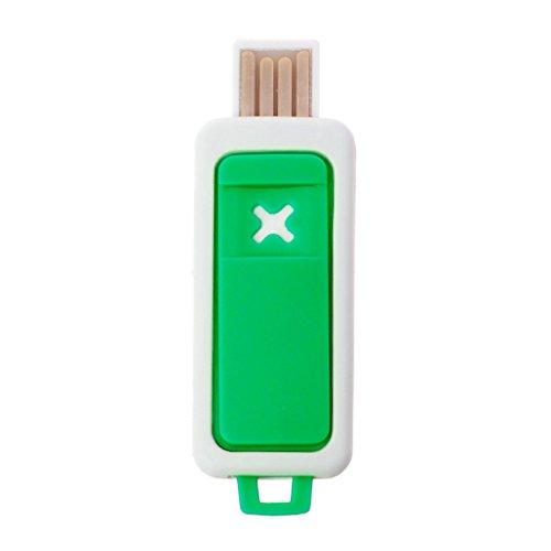 Eliky Portable Mini Difusor de aceite esencial Aroma USB aromaterapia humidificador, Verde
