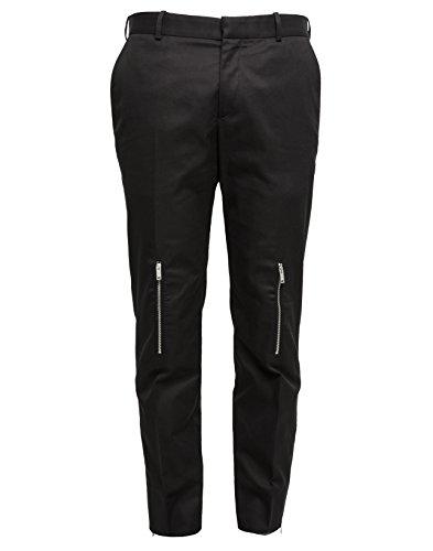 alexander-mcqueen-mens-449556qis111000-black-cotton-pants
