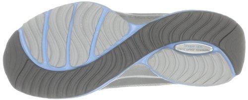Skechers 12373, Damen Laufschuhe Silber (Silber)