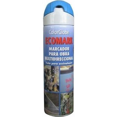 CRC - Marcador De Obra En Spray Ecomark Amarillo 500 Ml