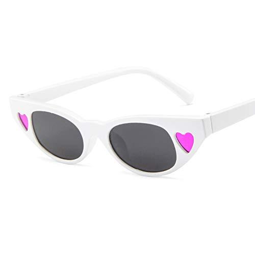 Sunnyj occhiali da sole vintage women small love cat eye occhiali da sole ovali occhiali da sole ladies retro tiny cateyes eyewear shades per le donne 4