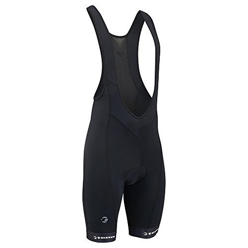 MENS COOLFLO BIB SHORTS 2 0   BLACK   LRG
