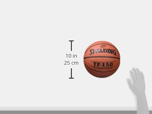 Spalding - Pallone da basket TF150 Out Img 1 Zoom