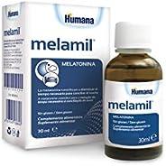 MELAMIL de Humana – Complemento Alimenticio a base de Melatonina pura al 99%, que ayuda a conciliar el sueño,