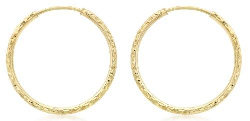 Carissima Gold Pendientes de mujer, con oro amarillo de 9K