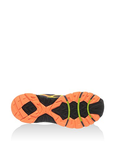 Asics, T4E4N 5089, Scarpe sportive, Uomo Blu/Lime/Arancione