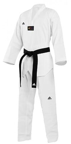 adidas - Dobok tenue de Tae Kwon Do col blanc Starter T/180 cm (fourni sans la ceinture) - TS01M