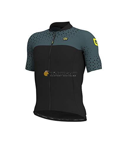 Alé Cycling Solid Climb SS Jersey Herren Grey-Black Größe L 2019 Radtrikot kurzärmlig -