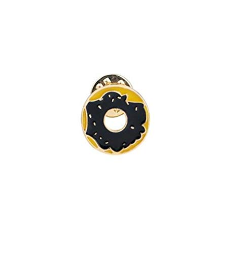 YHUJH Home Button Abzeichen Kostüm Zubehör Kreative Schöne Abzeichen Kreative Niedlichen Donut (Bunt)