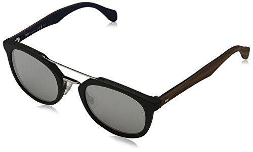BOSS Hugo Herren 0777/S SS RBG Sonnenbrille, Schwarz (Black Brown Grey Speckled Silver), 51