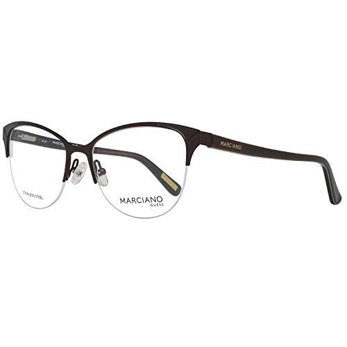 Guess Damen by Marciano Brille Gm0290 52050 Brillengestelle, Braun, 52