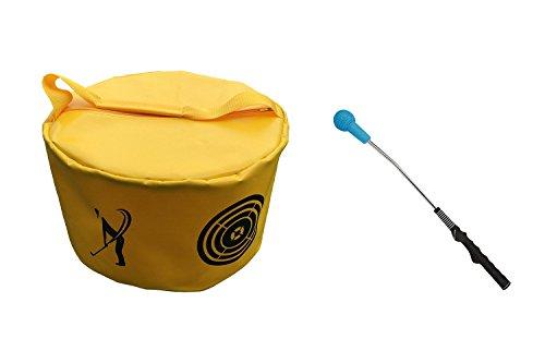 POSMA HB010Z Set aus Golf-Tasche und Golfschläger für starke Leistung, mit Aufsatz und Griff fürs Training