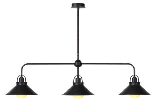 lucide-31320-03-97-lampara-de-techo-colgante-metal-3-bombillas-e27-de-60-w-color-negro