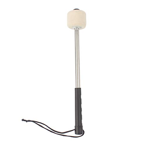 Hengxing Bass Drum Mallet Drum Stick Niedriger Radius Großer Filz Drum Stick Mit Aluminiumlegierung Griff Instrument Zubehör Teil