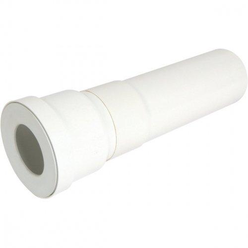 Pfeife rechts für WC-Durchmesser 100mm-Länge 40cm PVC qw3340