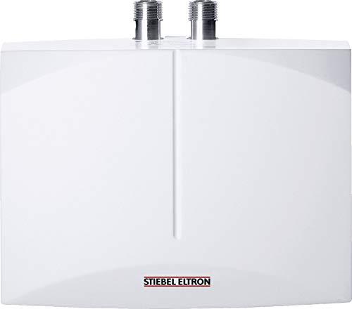 STIEBEL ELTRON DNM 3, hydraulischer Mini-Durchlauferhitzer, 3,5 kW, steckerfertig, drucklos für Handwaschbecken, 185411