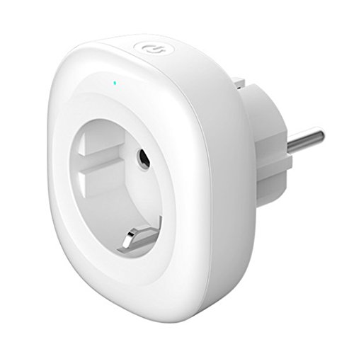 Price comparison product image juqilu Wifi Smart Plug Socket EU Timer Power Outlet Switch Remote Voice Control Your Devices from Anywhere Work with Amazon Alexa Echo Google Assistant and IFTTT No Hub Required
