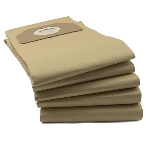 DeClean 10 Staubsaugerbeutel 2 lagig Papier Ersatz für Kärcher A2701 A2801 A2801 Plus A 2701 2801 2801plus A2701pt 6.904-263