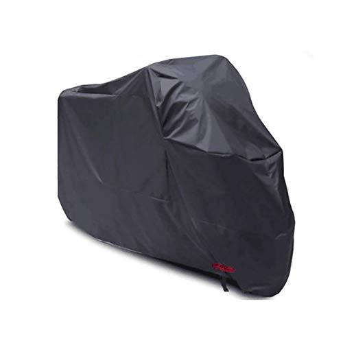 YXX- Couvertures de meubles Couvertures de moto imperméables extérieures de stockage, grand abri de moto de protection durable et anti-déchirure (taille : 265x105x125cm)