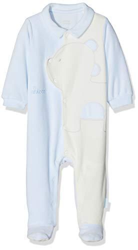 Chicco tutina aperta davanti, turchese (azzurro chiaro 021), neonato (taglia produttore:044) unisex-bimbi