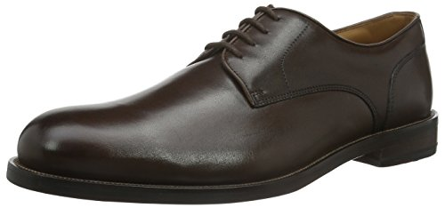 Clarks Coling Walk, Scarpe Stringate Uomo, Marrone (Walnut Leather), 43 EU