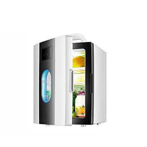 Yuany Mini réfrigérateur, réfrigérateur Silencieux pour Voiture Portable, réfrigérateur Domestique, réfrigérateur, Protection de l'environnement,Black,10L
