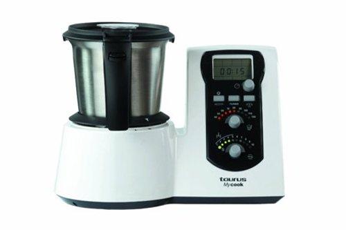Taurus Mycook - Robot de cocina, 1600 W, capacidad de 2 l, color blanco width=