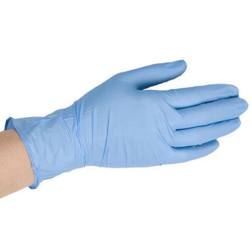 Blue Vinyl Gloves - Medium