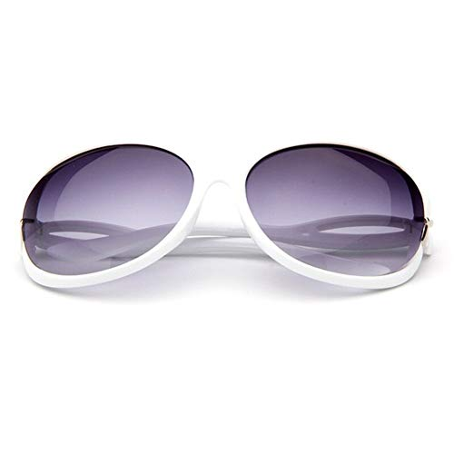 Schmetterling Spiegel Fuß Sonnenbrille Frauen Kunststoff Ovale Sonnenbrille Luxus Reise Uv400 (Lenses Color : Q3)