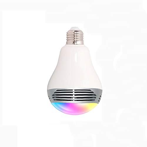 YAYONG LED Colorful Light Bulb Intelligent Control Wireless Bluetooth Lautsprecher Music E27 Bulb