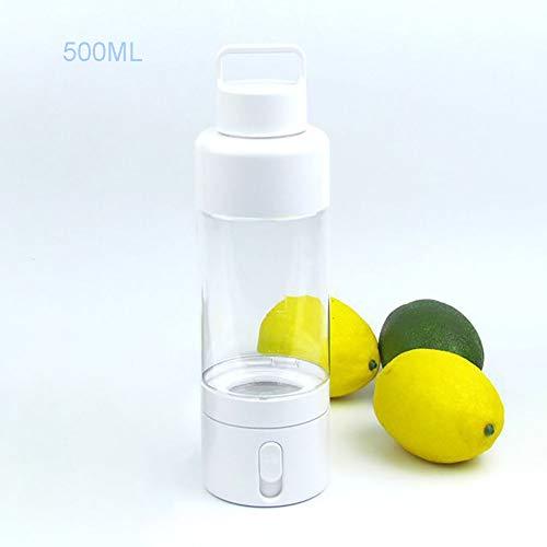 Nahrungsmittelgrad-silikon-spray (JKLKL Sport, Der Nano-Spray-Multifunktionsschale Mit Feuchtigkeit Versorgt, Beleuchtungsnotfallanweisungen, Trinkwasserflasche Mit 2 Stunden Wissenschaftlicher Erinnerung,White,500ML)