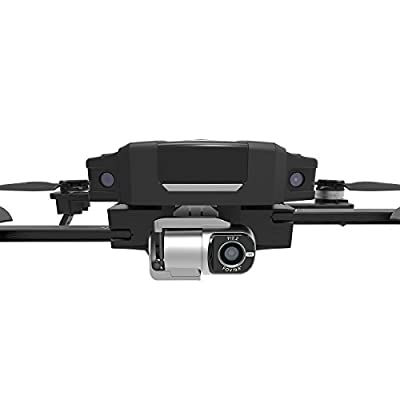 GDU O2 Drone Quadcopter With Camera, Mini Drone with hd camera Live Video (4K Video Resolution, Vision Positioning System, Smart Shot, 3-Axis Stable Video Capture, 1Km HD Video Transmission, Totally Portable, Obstacle Avoidance,Sliding Arm Foldable)