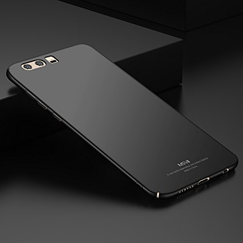 Huawei Honor 9 (5,15 Zoll) Hülle, MSVII® Sehr Dünn Hülle Schutzhülle Case Und Displayschutzfolie für Huawei Honor 9 (5,15 Zoll) - Lila JY00260 Schwarz