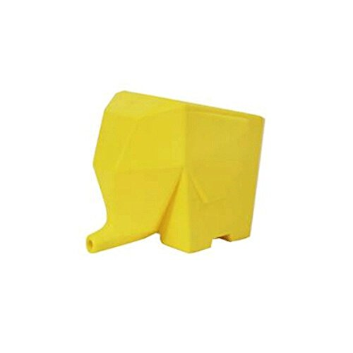 Xiton Cocina Hogar Almacenamiento elefante Cubiertos Escurridor titular amarillo