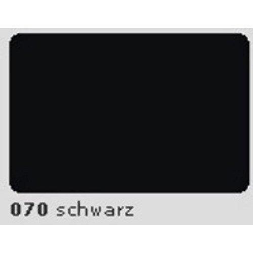 Preisvergleich Produktbild Oracal 631 Plotterfolie 31,5cm x 5m schwarz MATT 070