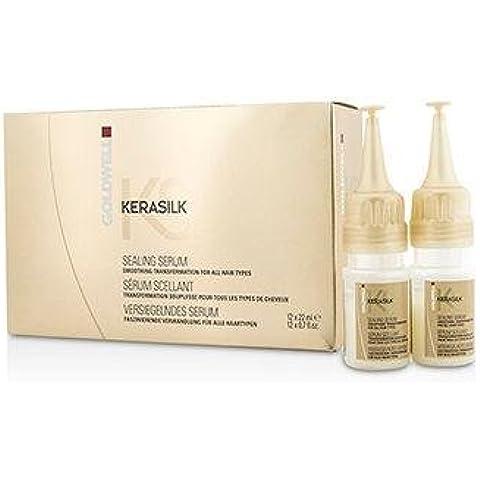 Goldwell Kerasilk Sealing Serum - Smoothing Transformation (For All Hair Types) 12x22ml