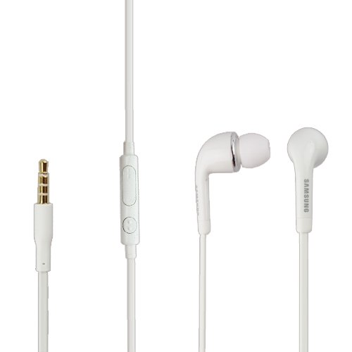 Original Samsung Headset EO- EG900BW in Weiss für SM-N7505 GALAXY Note 3 Neo InEar In-Ear Kopfhörer Ohrhörer Ohrstöpsel 3,5mm Stecker Stereo Sound Bulk verpackt