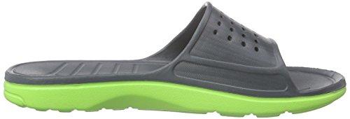Hummel Sport Sandal, Chaussures de Plage et Piscine Mixte Adulte gris (Dark Slate 2482)