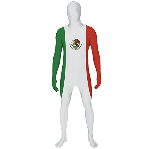 suit Flag Mexico Skinz Fancy Dress (Fancy Dress Schnelle Lieferung)