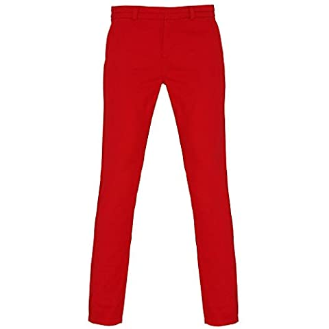 Women's Classic Fit Chinos Soft Fabric Finish Pant's By Asquith & Fox (X-Small - 8(24