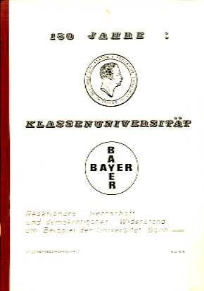 150 Jahre Klassenuniversität von 1968