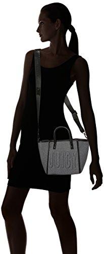 Juicy by Juicy Couture - Arlington, Borse a mano Donna Grigio (Grey Marl)
