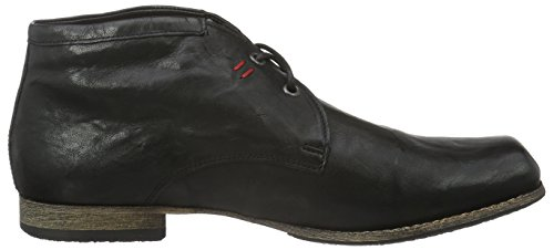 Think! Herren Guru Desert Boots Schwarz (SCHWARZ 00)