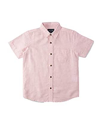 DJ&C By FBB Linen Shirt with Patch Pocket