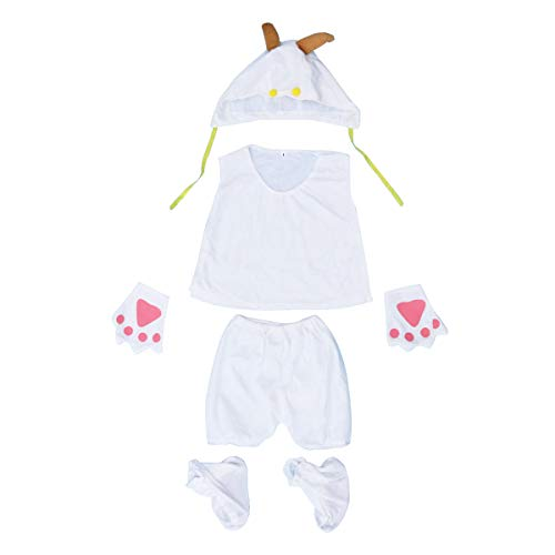 Baby Ziege Kostüm - BESTOYARD Kinder Performance Kostüm 5-teilig für
