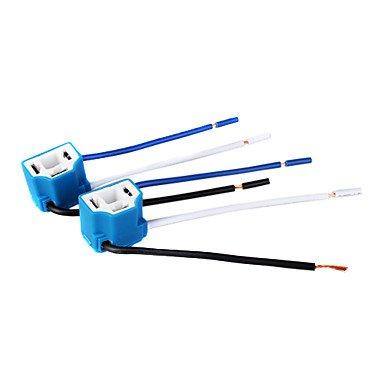 K-NVFA Scheinwerfer Buchse / Stecker für H4 Lampe (Keramik, 1 Paar) #-5700