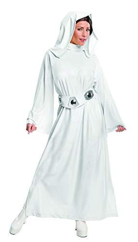 Rubie's offizielles Star Wars Prinzessin-Leia-Kostüm, für Erwachsene, Größe L