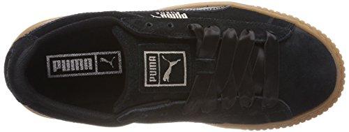 Puma Suede Platform Bubble Wn's, Scarpe da Ginnastica Basse Donna Nero (Puma Black)