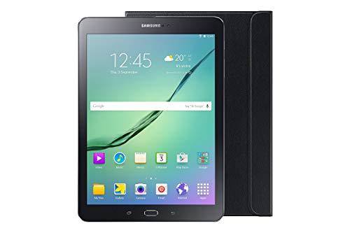 Samsung T813 Galaxy Tab S2 9.7 24, 58 cm (9,7 Zoll) Wi-Fi Tablet (Schwarz) + Bookcover