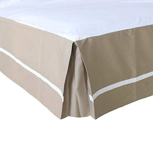 JIAOXM Bettwäsche Maßgeschneidertes Bett Rock Dust Ruffle Klassisch Tailored Styling 14